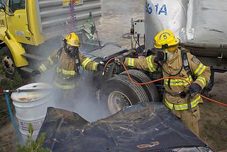 Ten hazardous materials response teams will test their skills at LANL's Hazmat Challenge.