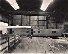 Iraq Railways - Iraqi State Railways passenger coach under construction (Gloucester Railway and Carriage Works)