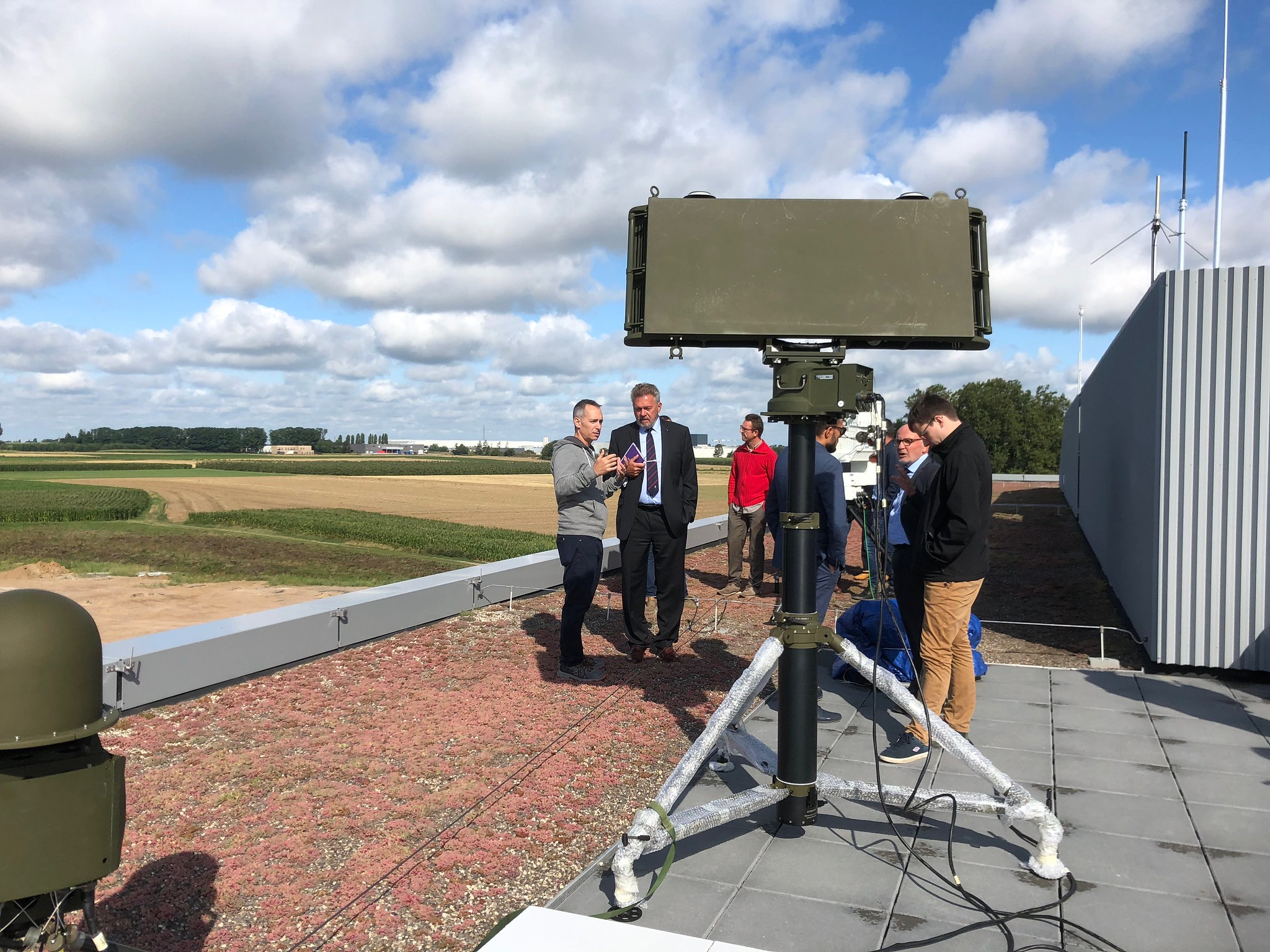 20190814 - BATS demonstreert counter-drone radarsysteem