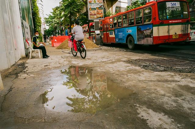 Pavement in Bangkok (explore)
