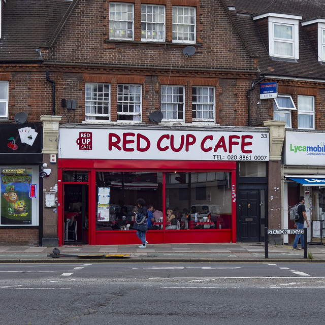 Red Cup Cafe, North Harrow