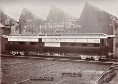 Africa Railways - Nigerian Railways - NR bogie-type composite 1st/2nd/3rd class passenger coach (Gloucester Railway and Carriage Works, December 1913)