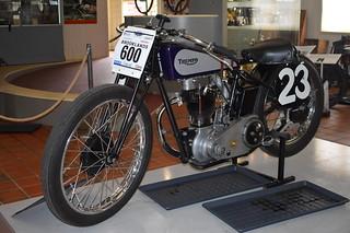 1939 Triumph Tiger 80 Freddy Clarke Special replica