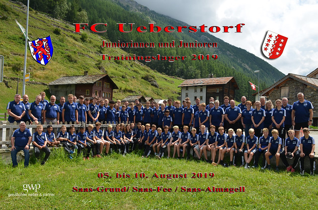 Juniorinnen- und Junioren- Trainingslager 2019