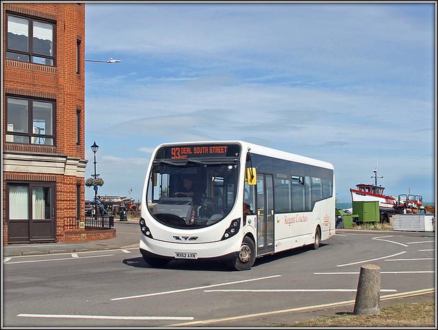 Regent Coaches MX62 AXN