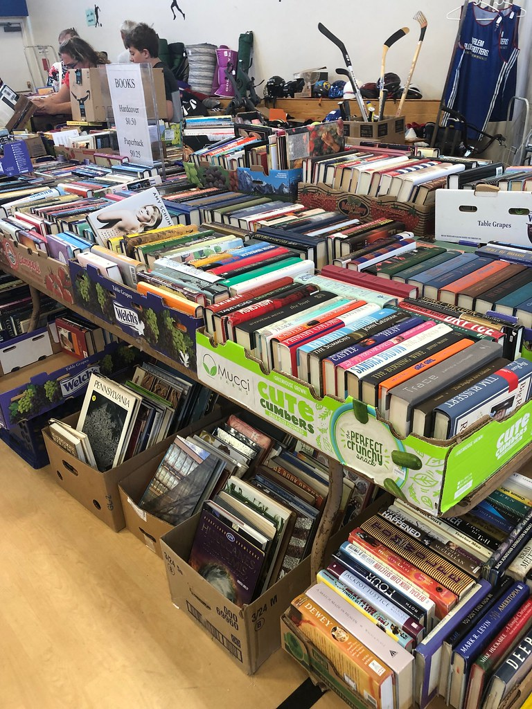 attic treasures used book sale