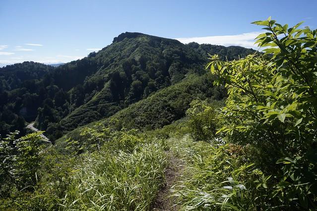 三方岩岳 新ルートから その2