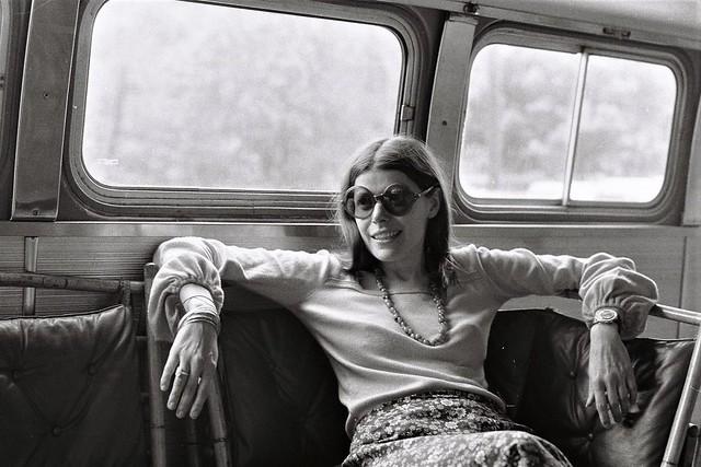 Australian traveler off on an adventure, summer 1973, Ellicott City, Maryland