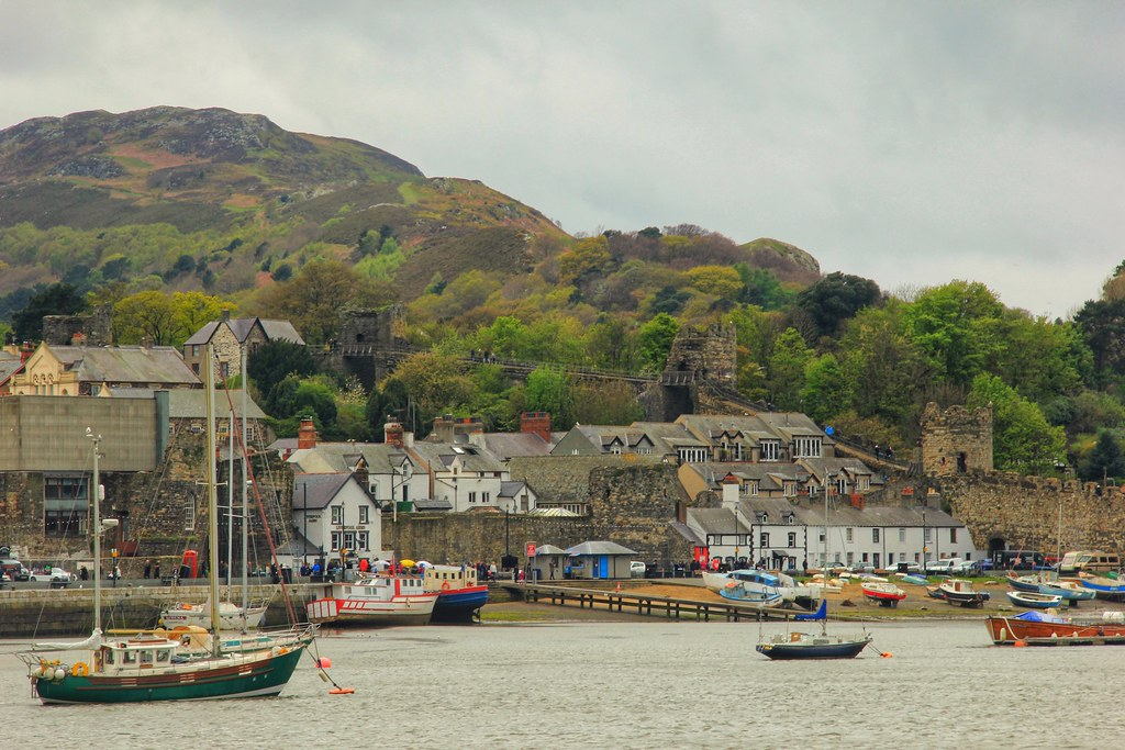 Conwy Harbour, North Wales