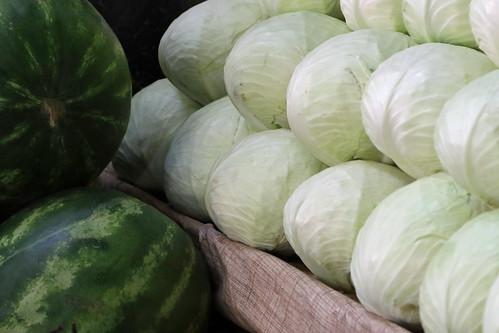 georgia telavi market telavimarket cabbage melon watermelon
