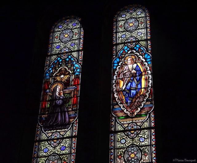 Vitraux de l'église du Sacré Coeur de Bordeaux