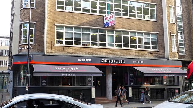 Sports Bar and Grill, St Luke's, EC1