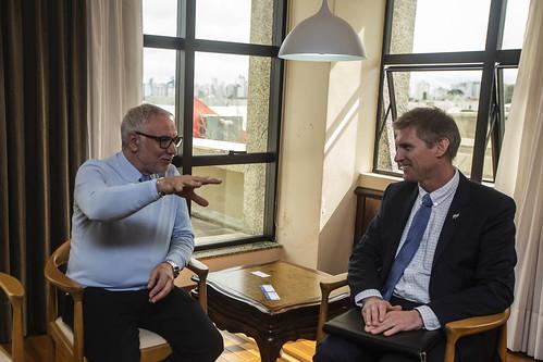 Visita Embaixador da Nova Zelândia