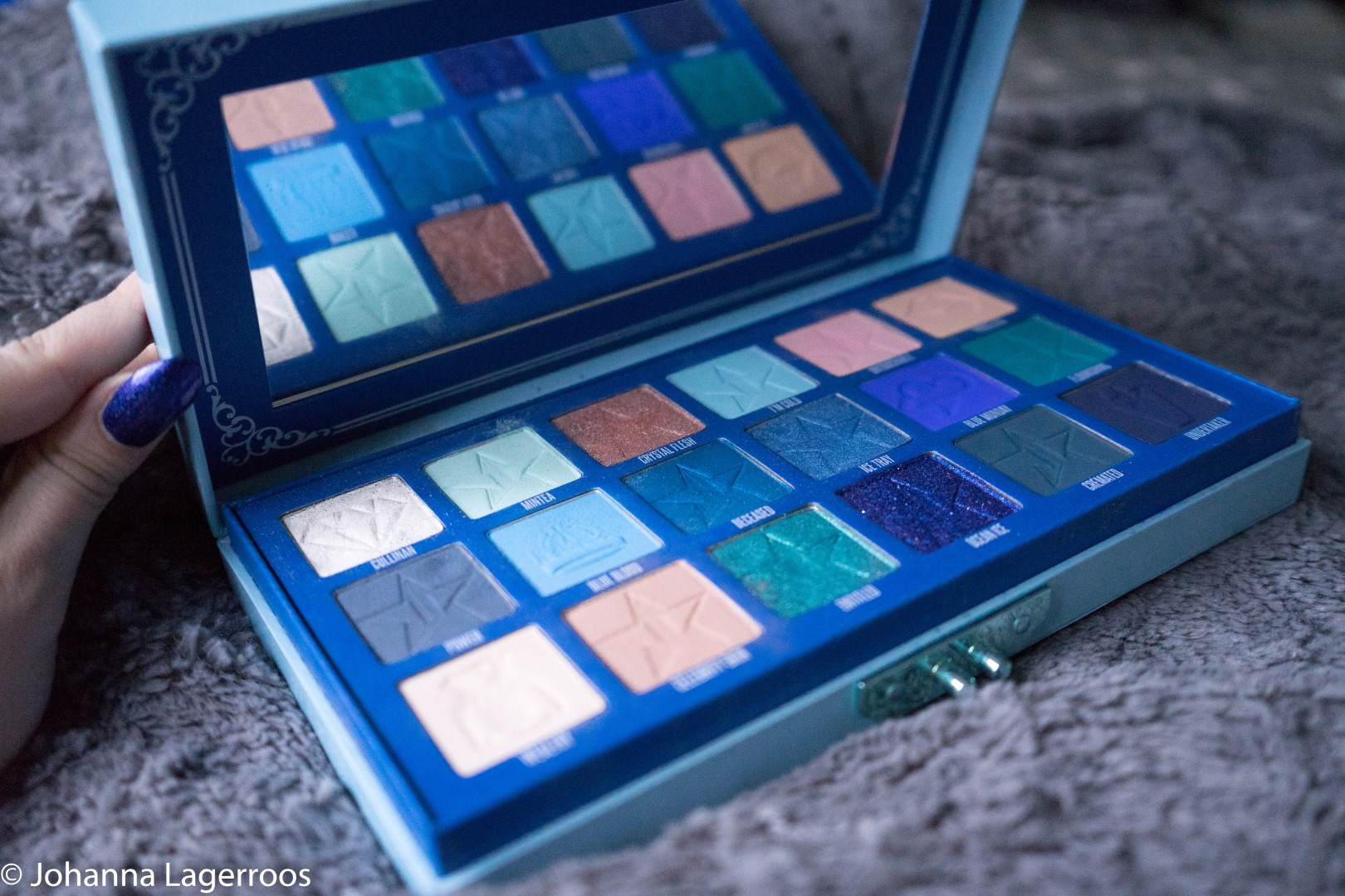 blue blood palette