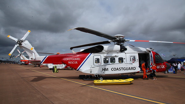 G-MCGK Sikorsky S.92A msn:92-0251 Bristow Helicopters / HM Coastguard