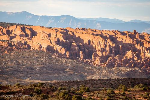 moab utah unitedstatesofamerica fieryfurnace archesnationalpark sandstone sandstonefins canon canon6dmarkii canonef70300 goldenhour