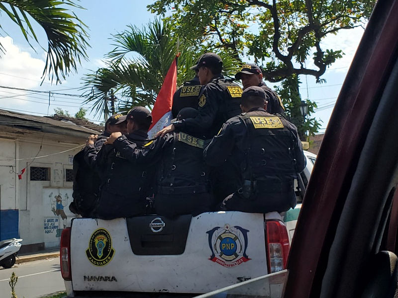 Iquitos police