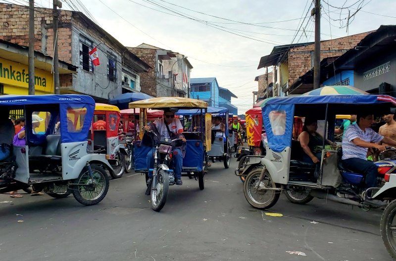 Mototaxis Iquitos