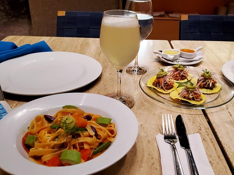 DoubleTree Hilton Iquitos food