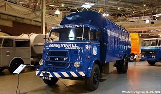 DAF A1900 garbage truck 1968