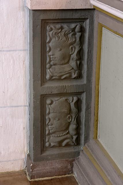Wolfenbüttel, Niedersachsen, Hauptkirche Beatae Mariae Virginis, ornamental stonecarving