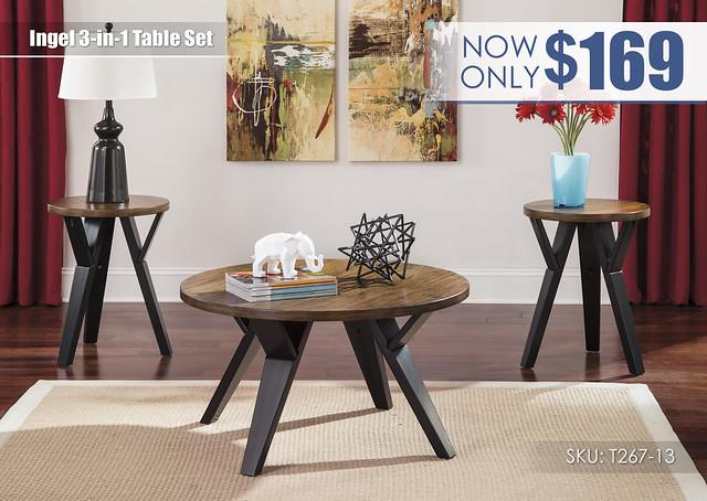 Ingel Table Set_T267-13