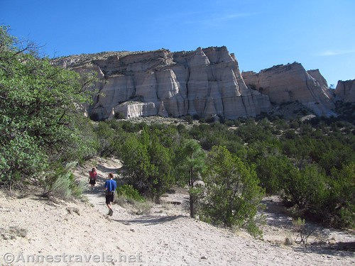 Hiking the Cave Loop in Kasha-Katuwe National Monument, New Mexico