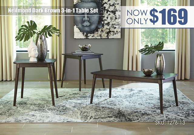 Neilmond Table Set_T276-13