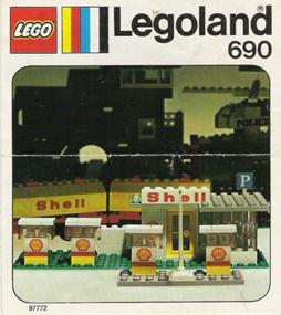 Bombas da Shell, Lego n.º 690, 1974