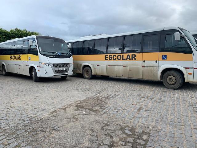 Fiscalização transporte escolar - Toritama e Santa Cruz do Capibaribe
