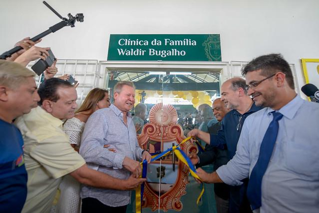 13.08.19 Prefeito inaugura primeira Clínica da Família na Zona Leste