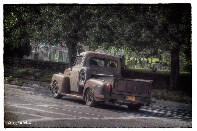Cemetery Drive By