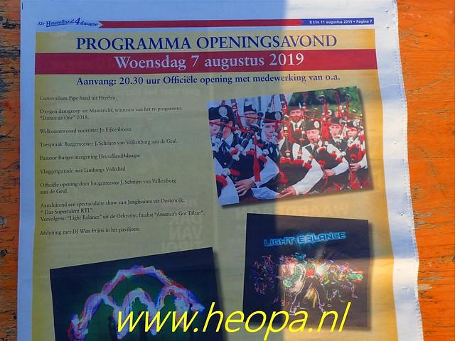 2019-08-07  Opening van de       32e  Heuvelland     4 Daagse  (3)