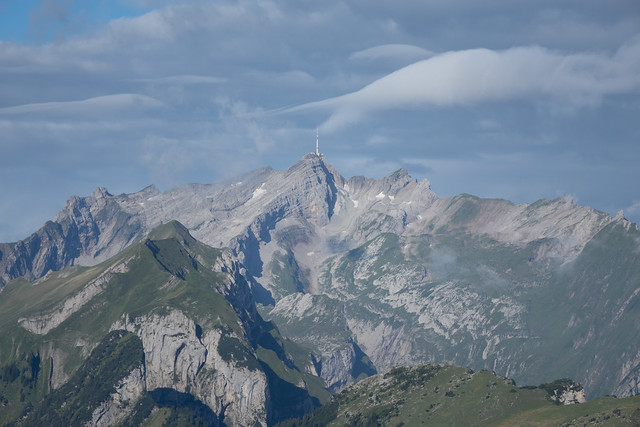 View direction Säntis and Marwees