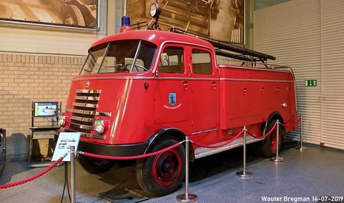 DAF A414 4X4 fire truck 1951