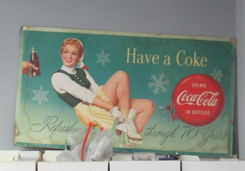 Coca-Cola sign---Gadsden, Al.