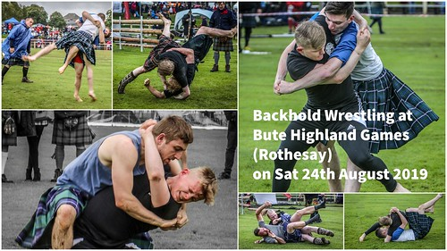 Coming Soon - Backhold Wrestling - Bute 24th Aug 2019
