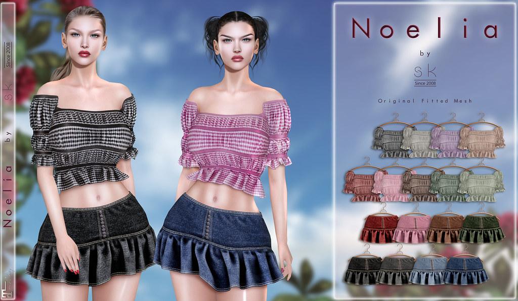 Noelia by SK Poster