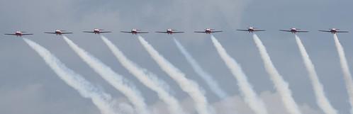 RCAF SNOWBIRDS, 9 in a row 2019 Abbotsford International Airshow  (YXX)