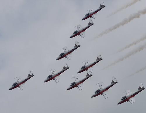RCAF 2019 SNOWBIRDS @ ABBOTSFORD INTERNATIONAL AIRSHOW    (YXX)