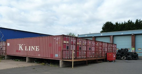 Container sheds