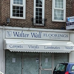I do love a shop pun. A shame this place has closed, I wonder who Walter is.