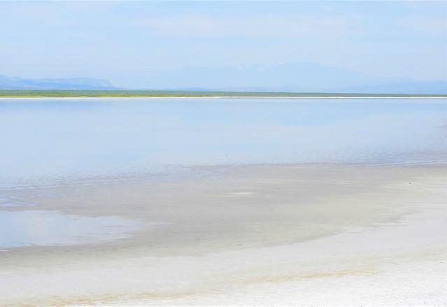 Rothkoesque Drying Soda Lake, Carrizo Plain National Monument.
