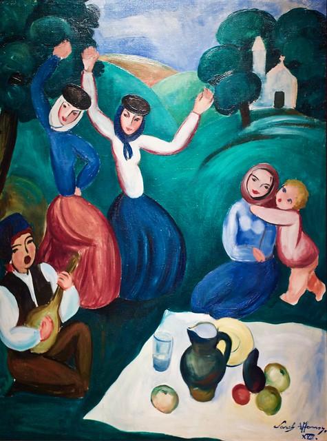 Picnic (1918) - Sarah Affonso (1899-1982)