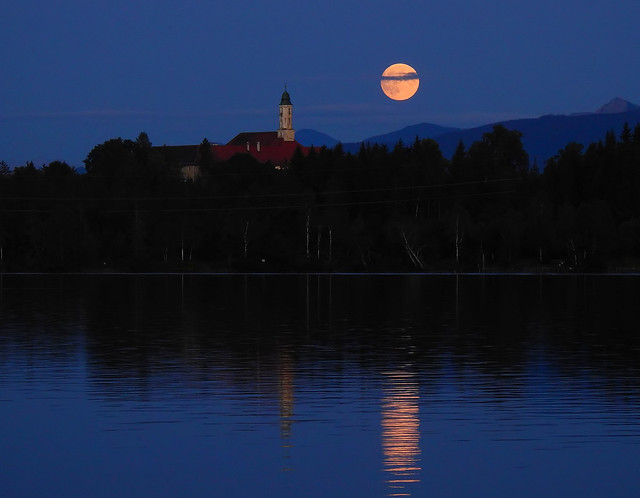 Kirchsee Moonrise