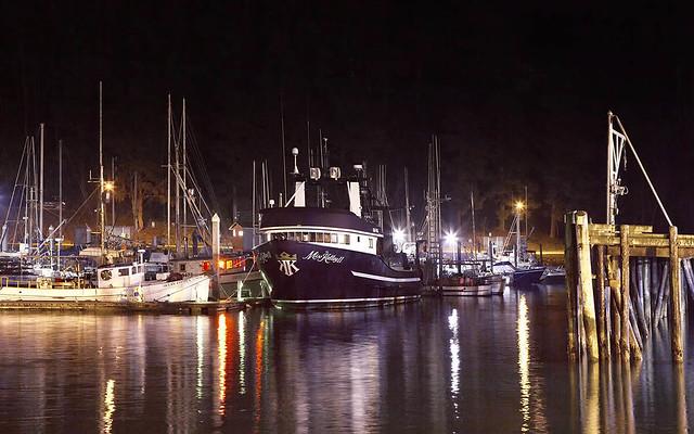 Rita Crane Photography: Noyo Harbor by Night, Fort Bragg