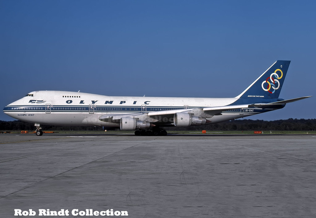 Olympic Airways B747-212B SX-OAC