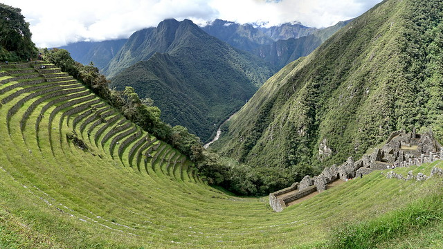 An amphitheater in the heart of the mountains