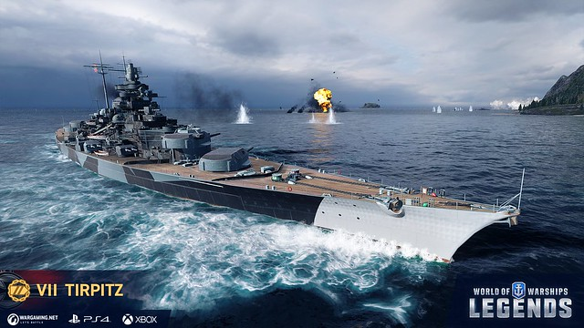 World of Warships: Legends Celebrates its Full Release with