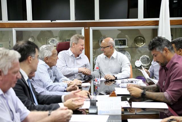14.08.2019 Prefeito de Manaus reuni com superintendente da Suframa